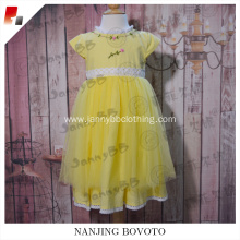 Elegant High Quality Lace Kids Puffy Party Dress