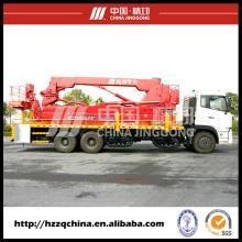 Le constructeur chinois offre le véhicule actionné par pont (HZZ5240JQJ16)