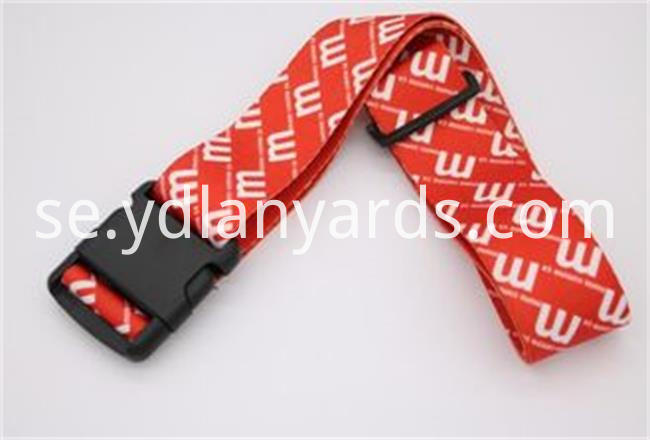 Custom Logo Luggage Strap