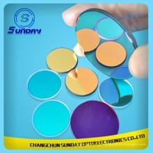 Filtro de cor de vidro óptico para projetor, imagem e sensor