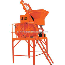 JS350 Single Shaft small Concrete Mixer