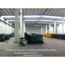 CUMMINS diesel que gera o OEM do conjunto e a fábrica do ODM (25-2500kVA)