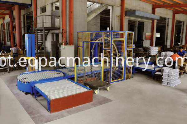 Fully Automatic Stretch Film Pallet Wrapper