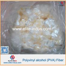 Fibres d'alcool de polyvinyle de 6mm avec la qualité