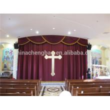 Nuevos diseños de moda de cenefas para la decoración de las cortinas de la iglesia