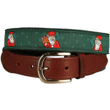 inflatable father christmas Belt Metal Buckle, Genuine Leather Belts
