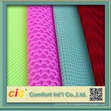 3D espaçador malha tecido para cadeira tampa/sanduíche malha ar/tecido tecido de malha