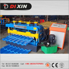 Dx 840 Roof Panel Glazed Tile Roll Forming Machine