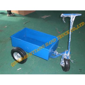 Tres ruedas de carro de acero de la herramienta, acoplado de ATV