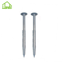 Security Ground Screw Anchor untuk Panel Surya