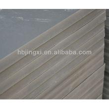 Color gris sólido de la hoja del PVC