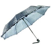 Parapluies de pli coupe-vent d'impression de peau animale (YS-3FD22083907R)