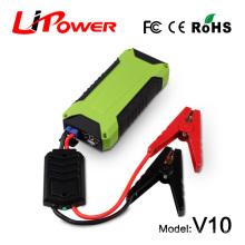 Arrancador portable del salto de la mini emergencia del CE FCC ROHS del CE de la alta calidad con el cable elegante del reforzador