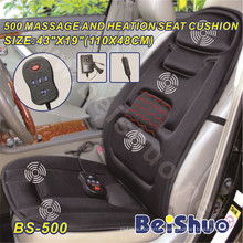 2016 Hot Sale Back Vibration Massage Heated Car Cushion
