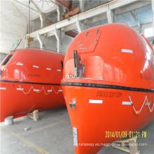 Solas Aprobado Bote salvavidas común totalmente cerrado para buque