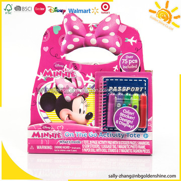 Minnie On The Go Activity Tote