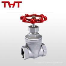válvula de portão de regulação do fluxo manual a351 cf8m
