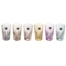 Glas Cup mit Farbe Bier Cup Tumbler Kb-Jh06161