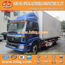 FOTON 4x2 160hp 10Tons carrier refrigerator truck for sale