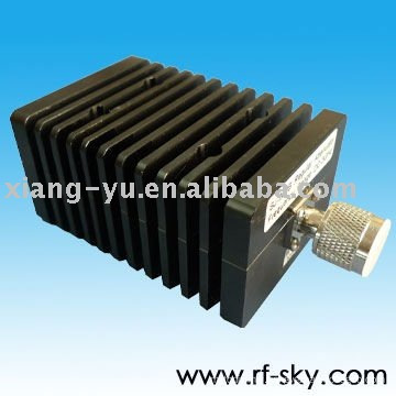 1.2 VSWR N type Connector catv attenuator 100W