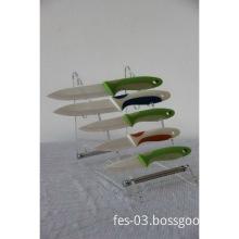 5 pieces kitchen utility ceramic knife set