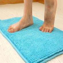 Tapetes feitos sob encomenda tapete de banho chenille tapetes