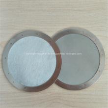 Tissu en fil d'acier gaufré pour maille filtrante
