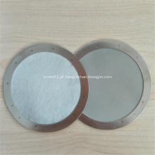 Malha de aço inoxidável redonda da tela de filtro