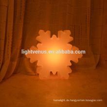 Außeneinsatz RGB LED Schneeflocke für Weihnachts-Dekor