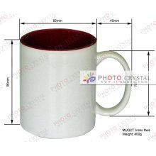 Taza de café de la sublimación 11oz tazas taza de café de la sublimación