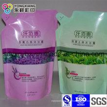 Bolsa de plástico para envases de detergente de plástico laminado