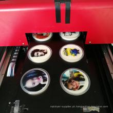 Impressora de bolo comestível de pequeno formato a4