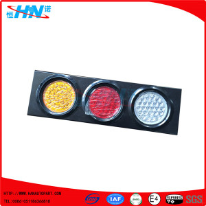 Waterproof 24V 72 LED Truck Tail Light For Truck Trailer