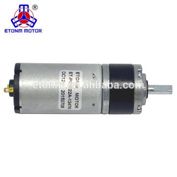 22mm niedrige Drehzahlen 10rpm hohes Drehmoment übertrugen elektrische 12v Gleichstrommotoren des Vorhangs