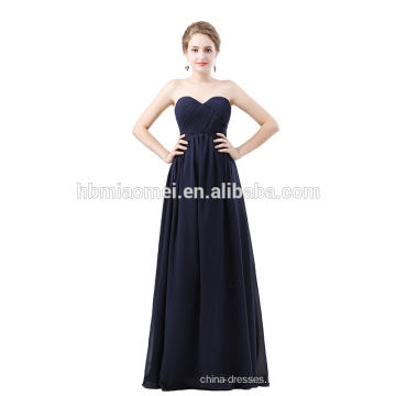 Royal blue color Short sleeve lady evening dress beaded bow tie long style laced gowns evening dress for wedding