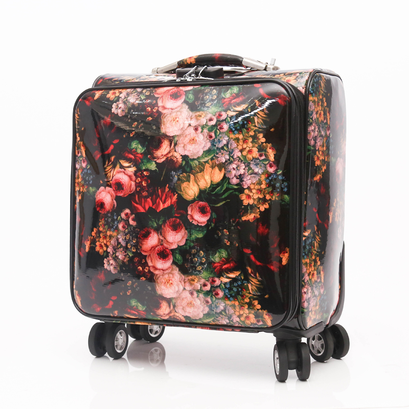 New development travel pu luggage