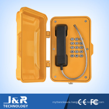 Weather Resistant Telephone Emergency Telephone Heavy Duty Telephone with Door