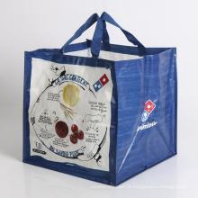 saco de compras de saco tecido tecido dobrável, saco de presente
