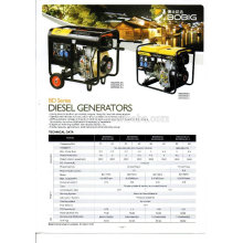 Hot sale air cooled diesel generator set 5KW