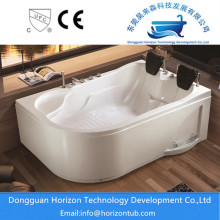 Soaking Bathtub for Three Wall Alcove Installations