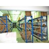 Adjustable Pallet Racking System , Long Span Racking For Sm