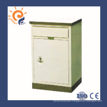 FG-9 China supplier hospital ward bedside stand with stainless steel base
