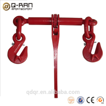 Drop forged or casting ratchet type load binder rigging