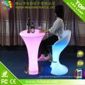 Pièces acryliques commodes de tabouret de barre de LED de Commericial