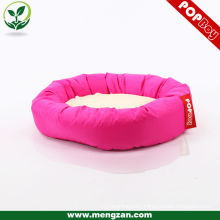 european style round cute pet dog sleeping bag bed