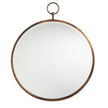 Cadre rond d'or antique de ventes chaudes regardant le miroir de mur en verre pour la décoration à la maison de mode