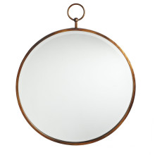 Hot Sales Antique Gold Round Frame Looking Glass Wall Mirror for Fashion Home Decoration
