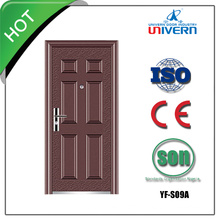Wrought Iron Glass Entry Door