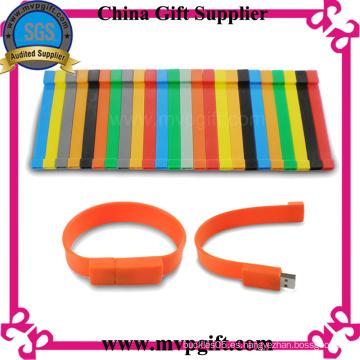 Pulsera de silicona USB Flash Drive