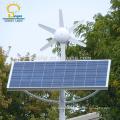 Led Vertical wind solar hybrid street light